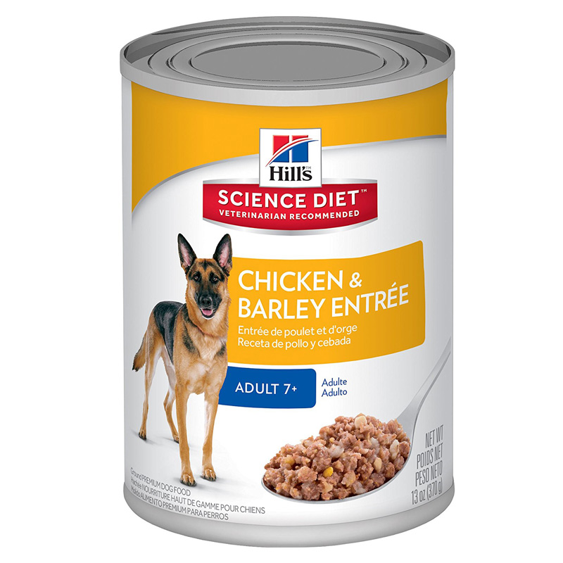 Hills ® Science Diet ® Savory Chicken Entrée Mature Adult 7+ Dog Food 13 oz. 992305