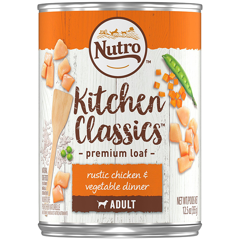 Nutro Natural Choice Chicken & Rice Senior DogFood (12)12.5 oz. Cans 992573