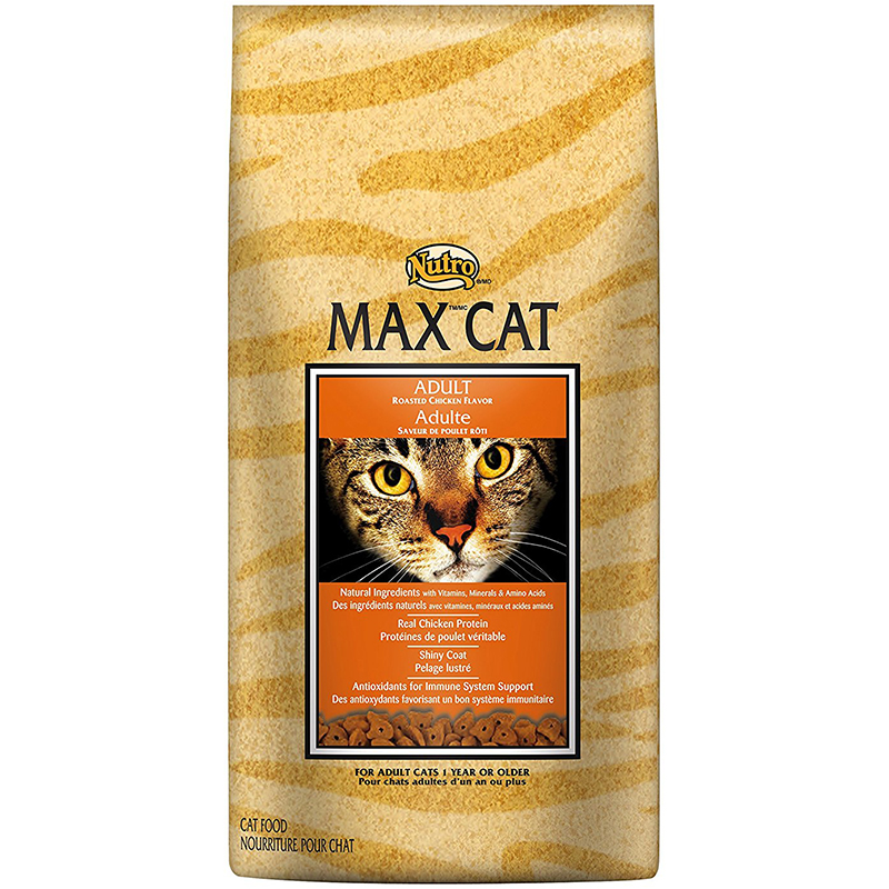 Nutro Max Adult Roasted Chicken Cat Food 92632b