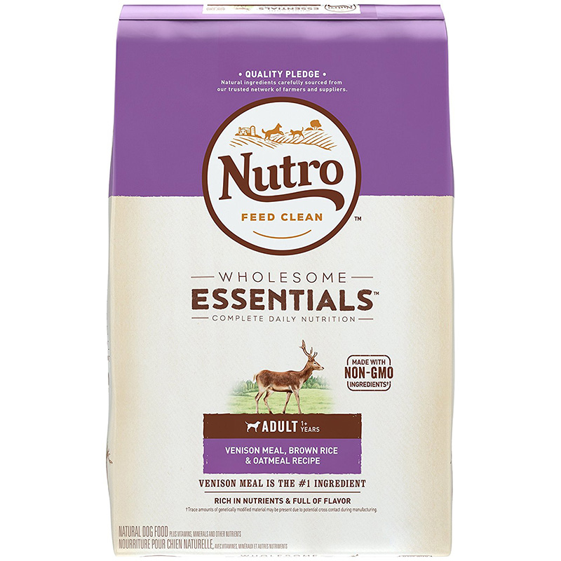 Nutro® Natural Choice® Sensitive Skin & Stomach Adult Venison Meal & Whole Brown Rice Formula 92860B
