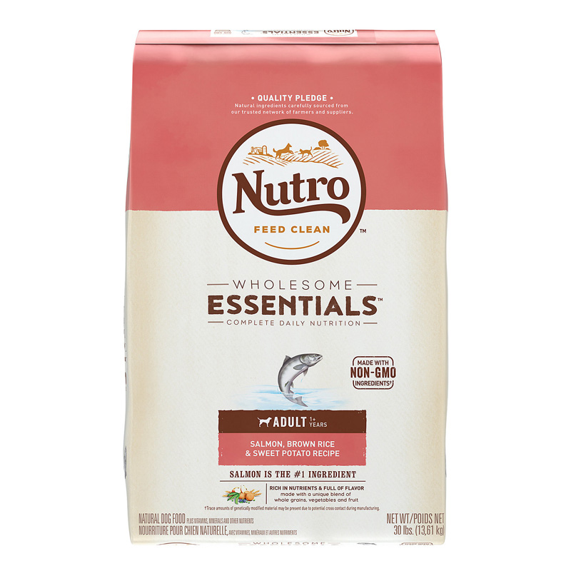 30# Nutro Ad Dog Fish/Rice/Pot Dry Dog Food 92865