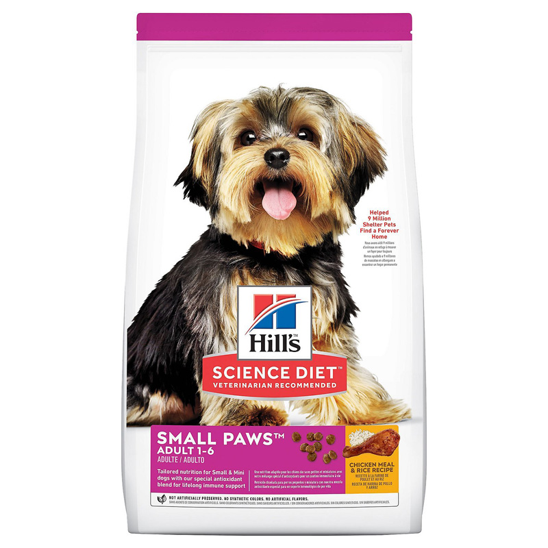Hills Science Diet Small/Toy Breed Adult Dog Food 92887b