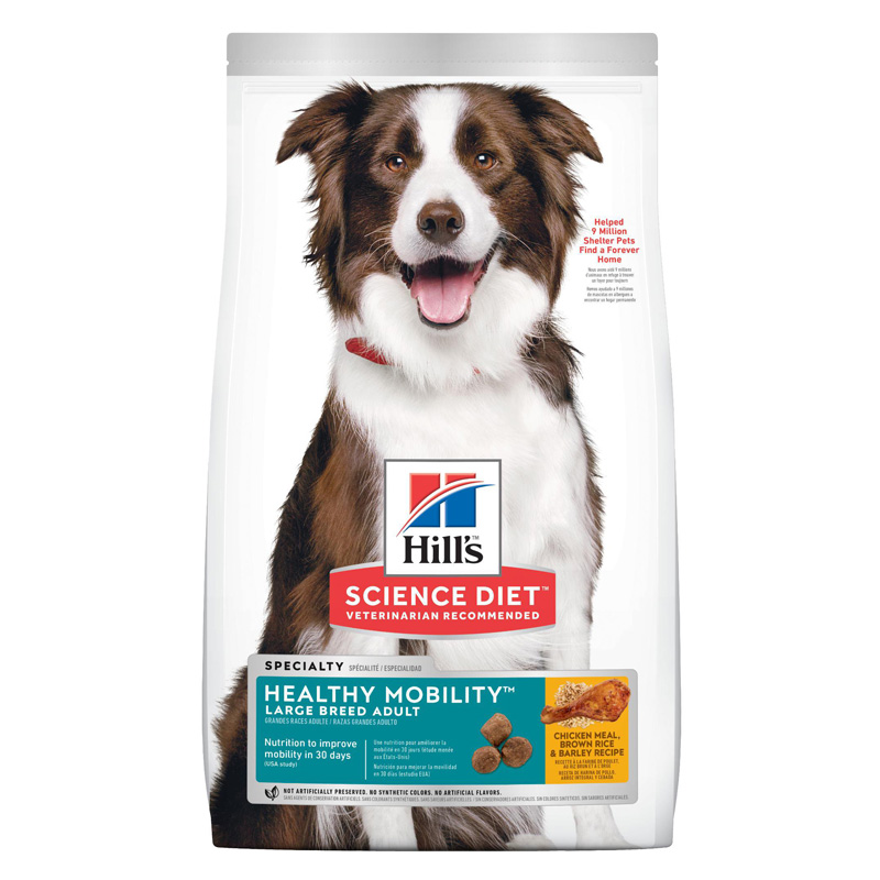 Hill's Science Diet Adult Healthy Mobility Large Breed Dog Food 30 lbs 92899