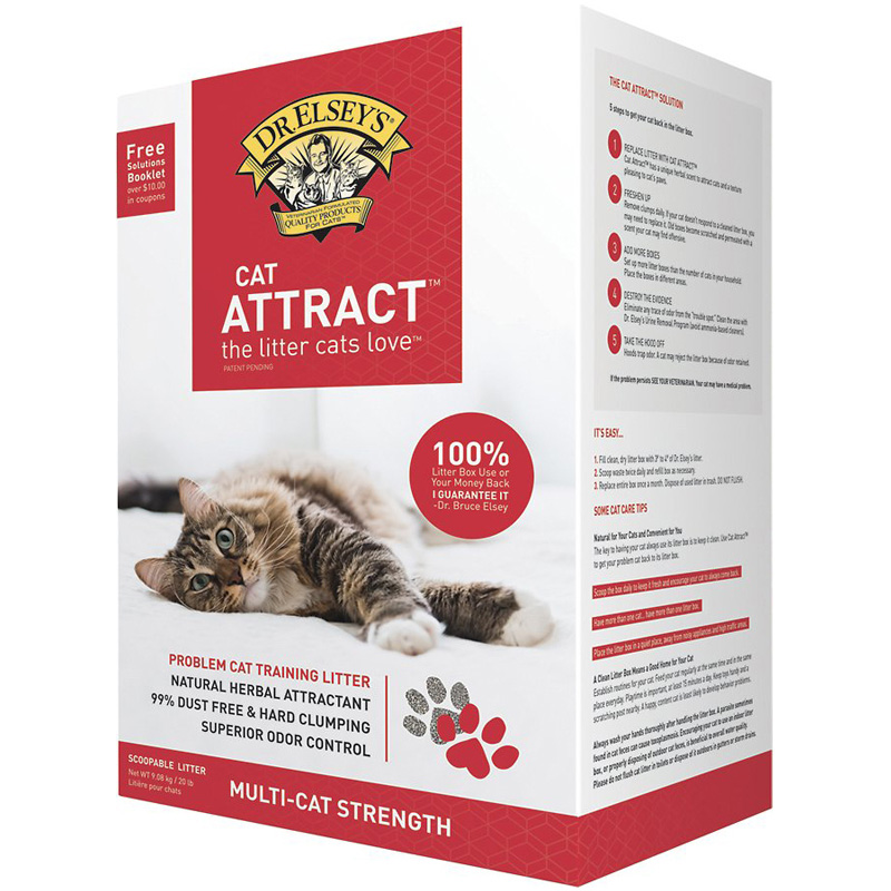 Dr. Elsey's Cat Attract Litter 20 lbs 968562