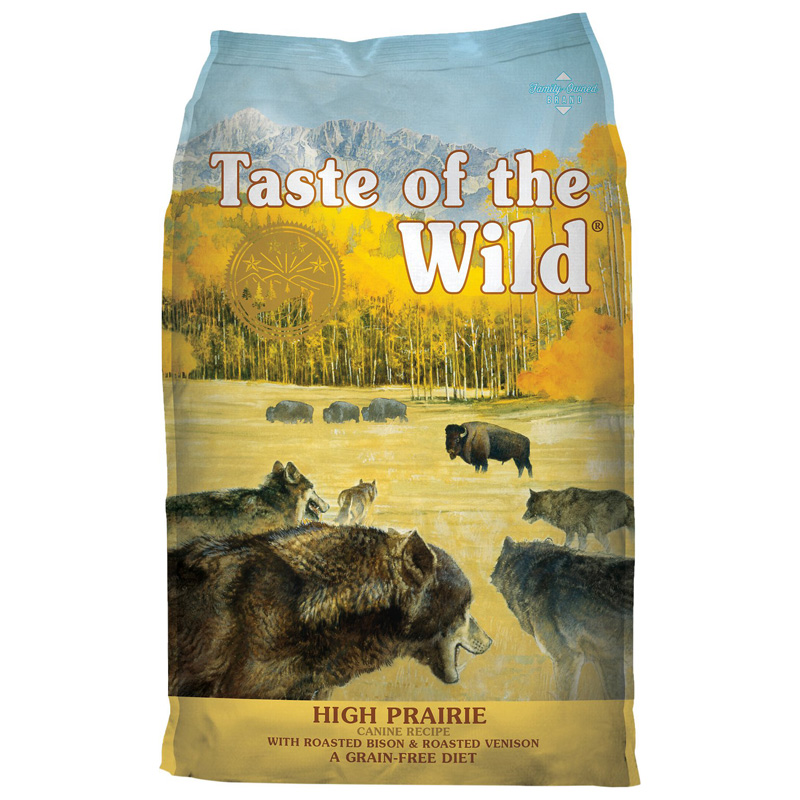 Taste of the Wild High Prairie Canine Recipe with Roasted Bison & Roasted Venison Dog Food 96863e