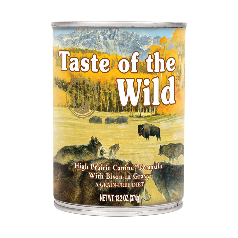 Taste of the WIld® High Prairie Canine™ Formula in Gravy Wet Dog Food 13.2 oz. 98963