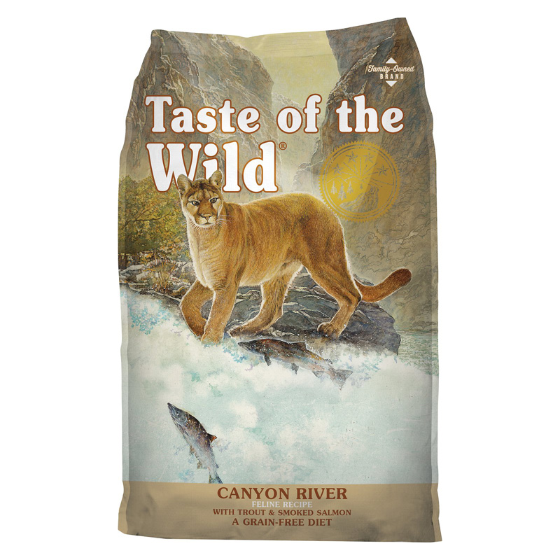 Taste of the Wild® Canyon River Feline™ Formula with Trout & Smoked Salmon Cat Food 96895b