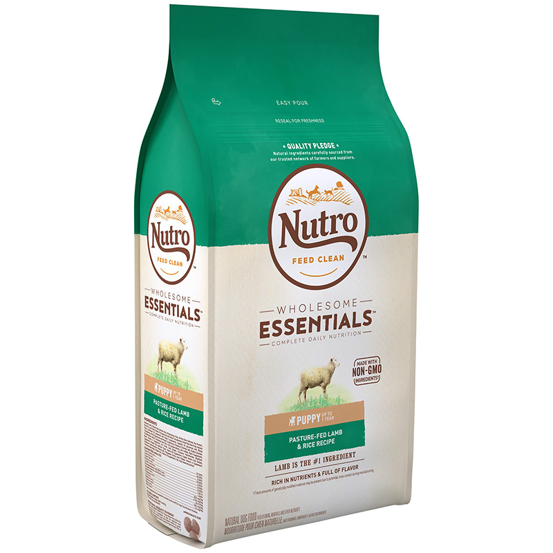 Nutro Wholesome Essentials Puppy with Pasture-Fed Lamb & Rice Recipe 5 lbs. 96951
