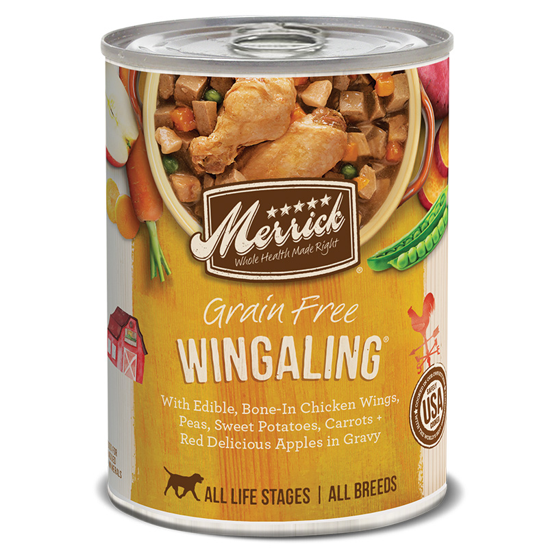 Merrick ® Wingaling ™ Dog Food 13.2 oz.