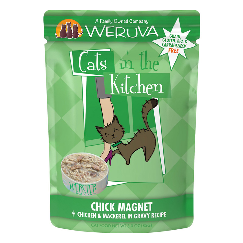 Weruva Cats in the Kitchern Chick Magnet Pouch 3 oz. 99931