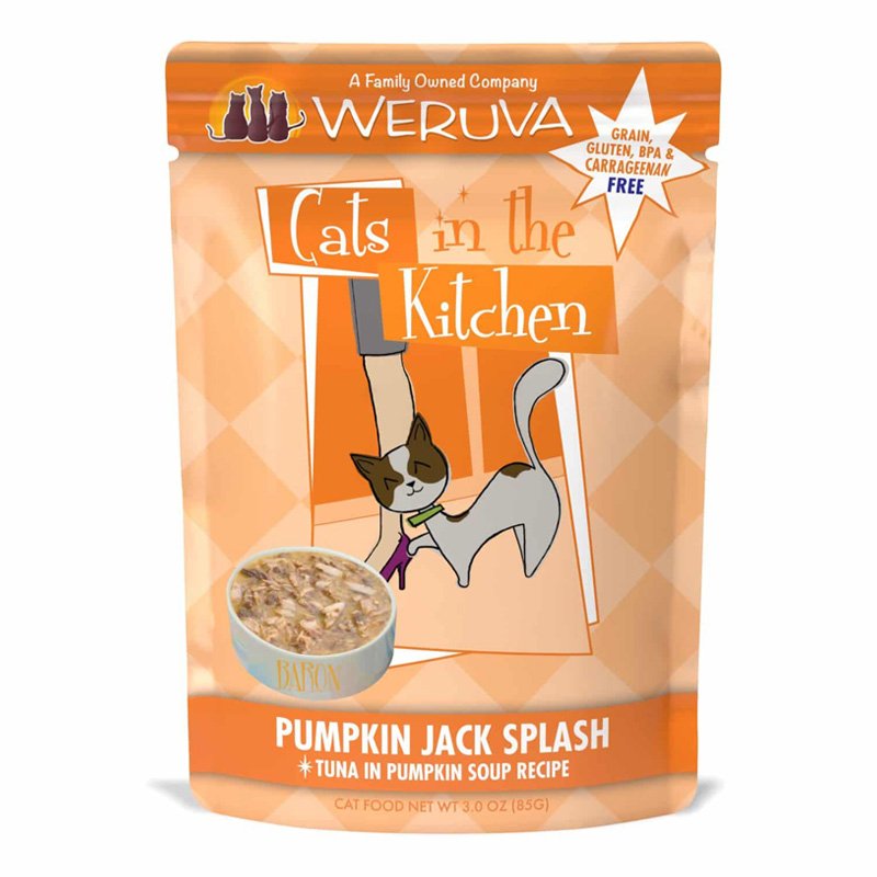 Weruva Cats in the Kitchen Pumpkin Jack Splash Pouch 3 oz. 99933