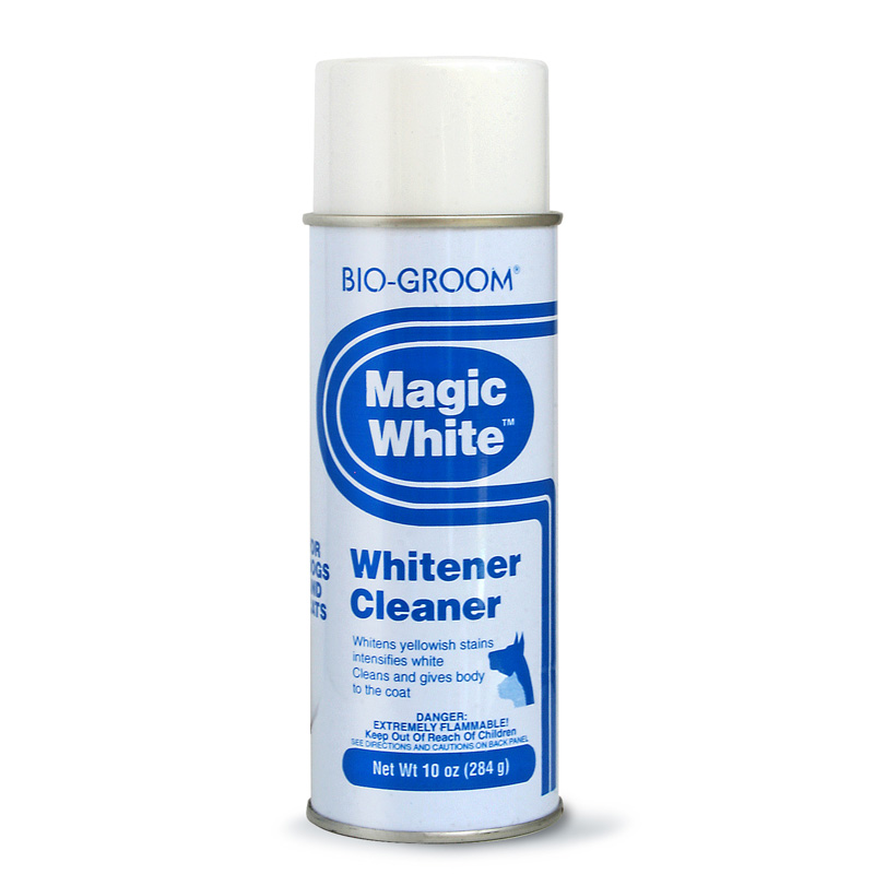 Bio-Groom Magic White Whitener Cleaner 10 oz.