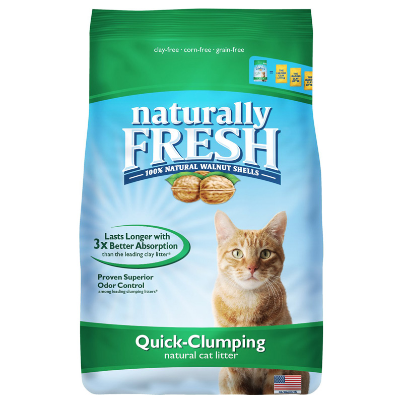 Blue Buffalo Naturally Fresh Quick Clumping Cat Litter 6lbs.
