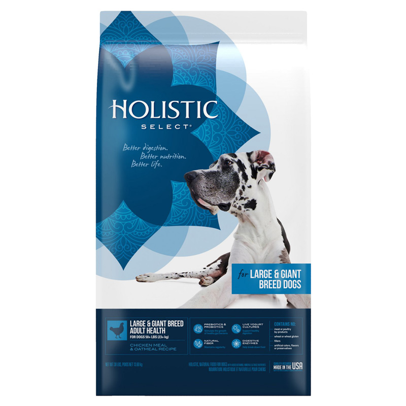 Holistic Select for Large & Giant Breed Dogs 30 lbs. I001098