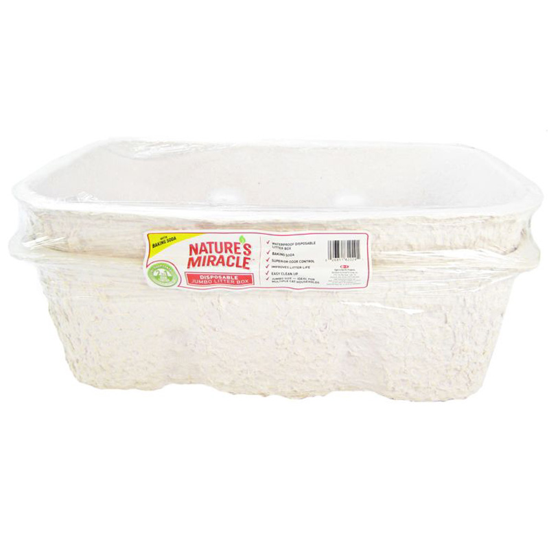 Nature's Miracle® Jumbo Disposable Litter Pan 2 pk I001118