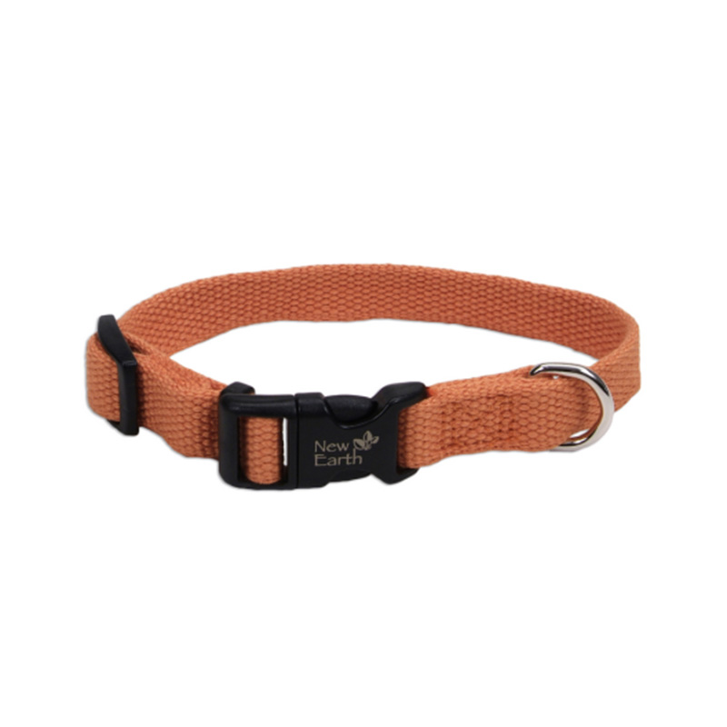 Coastal New Earth Soy Adjustable Pumpkin Dog Collar I001145