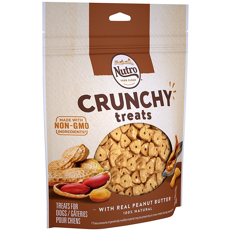 Nutro® Natural Choice® Crunchy Treats Peanut Butter 10 oz. I001361