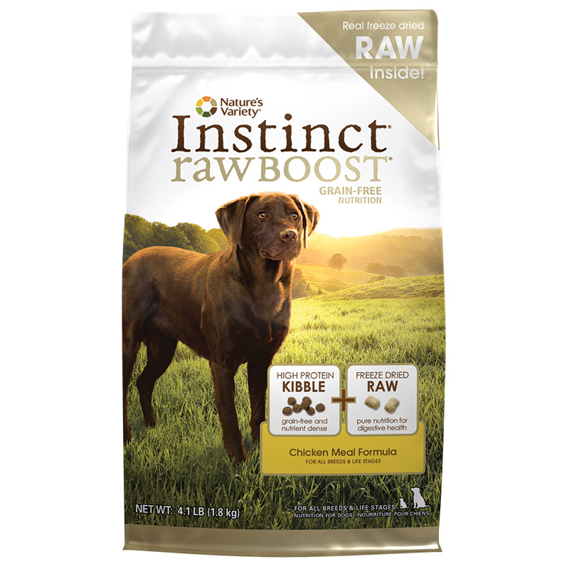 Nature's Variety® Instinct Raw Boost Grain-Free Chicken Meal Formula I001658b
