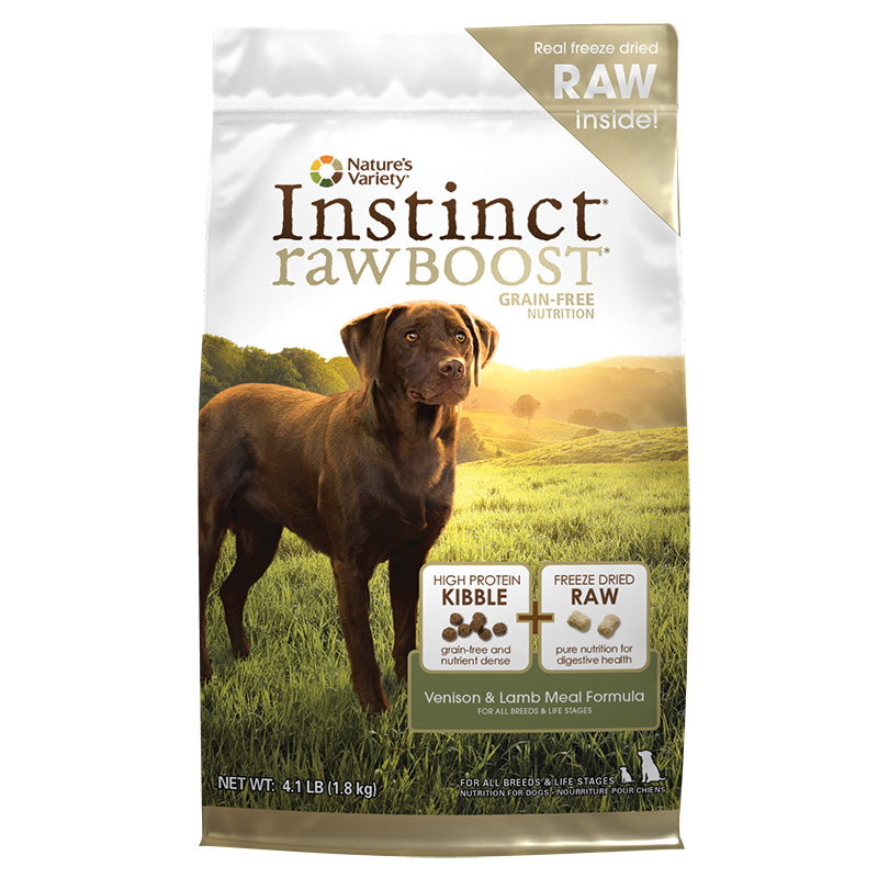 Nature's Variety® Instinct Raw Boost Venison & Lamb Meal Formula I001675b