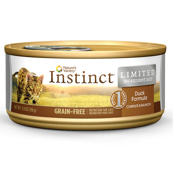 Nature's Variety LID Grain-Free Duck Formula Canned Cat Food 5.5 oz I002047