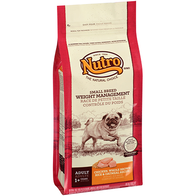 Nutro™ Short Breed Adult Weight Management Dry Dog Food 4 lb.  I002232