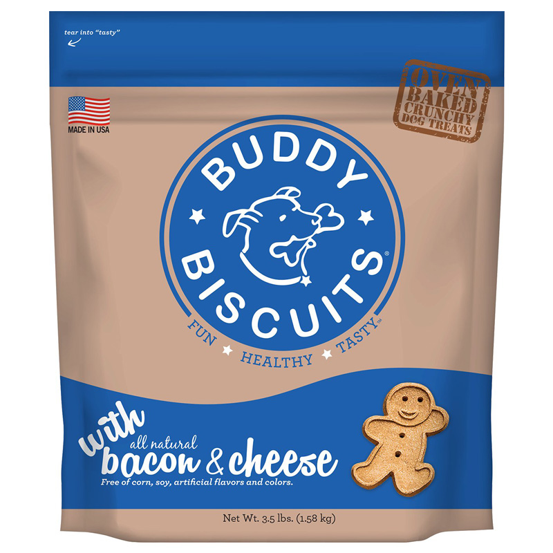 Cloud Star® Original Buddy Biscuits™ Bacon & Cheese 4 lbs.  I002316