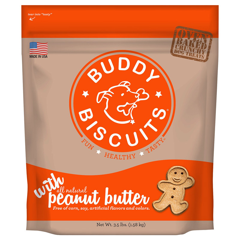 Cloud Star® Original Buddy Biscuits™ 3.5 lbs. Peanut Butter I002318