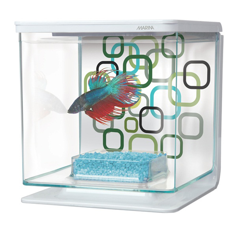 Marina Betta Aquarium Kit Geo Bubbles I002344