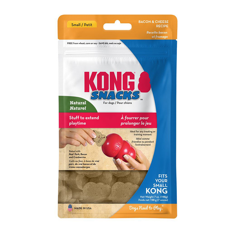 KONG® Stuff N™ Snacks Bacon & Cheese  I002482b