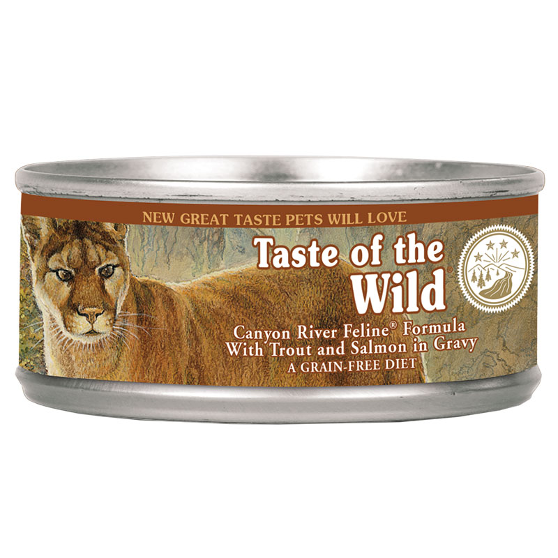 Taste of the Wild® Canyon River Feline Formula with Trout and Salmon in Gravy 3 oz. I002772
