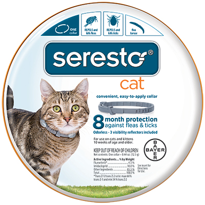 Seresto™ Flea & Tick Collar for Cats I002806