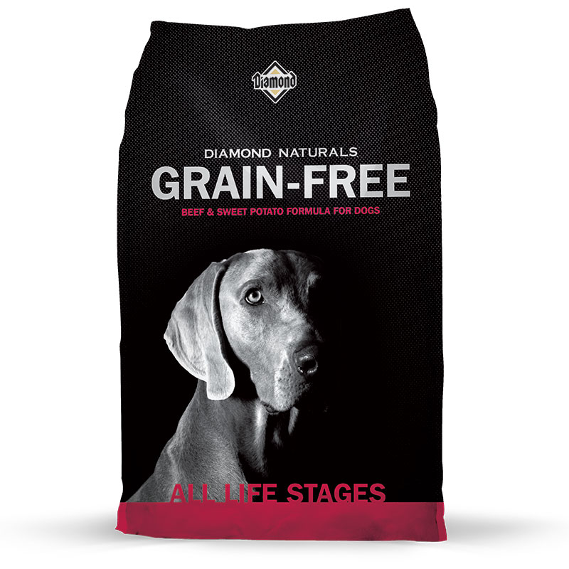Diamond® Naturals Grain-Free Beef & Sweet Potato Dog Food I002819b