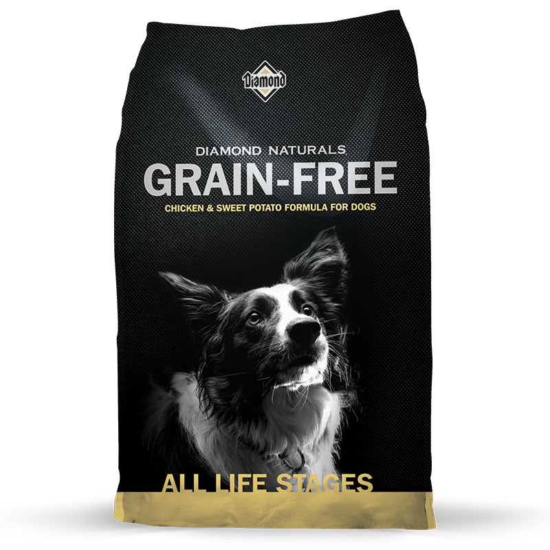 Diamond® Naturals Grain-Free Checken & Sweet Potato Formula for Dogs I002822b
