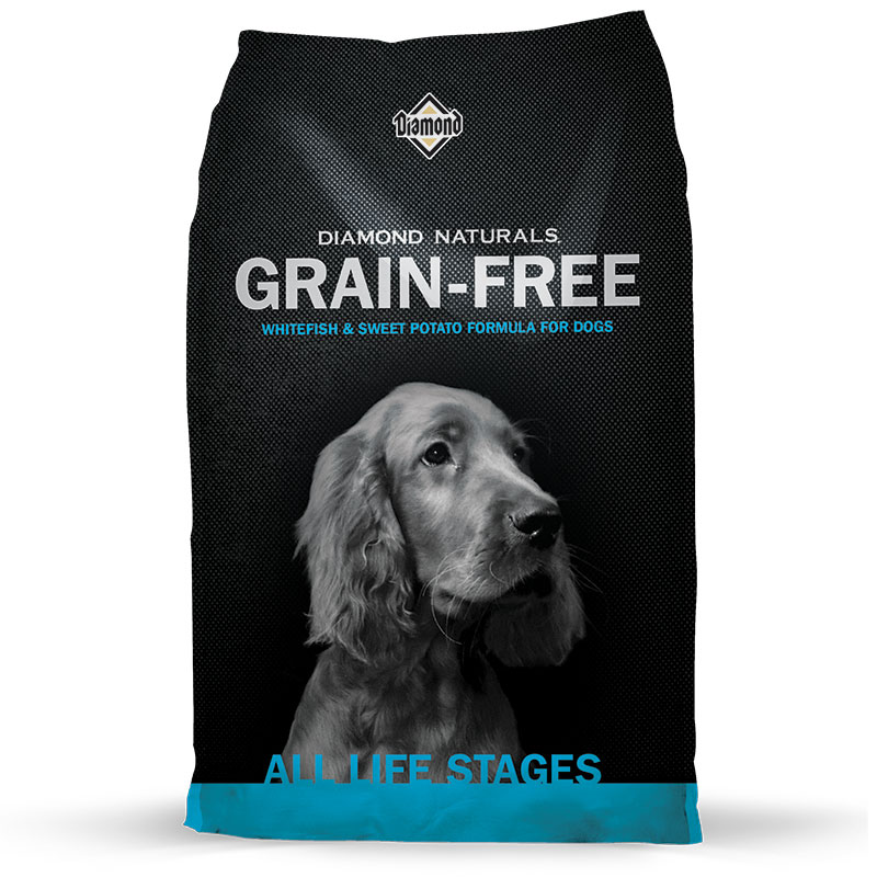 Diamond® Naturals Grain-Free Whitefish & Sweet Potato Formula for Dogs I002825b