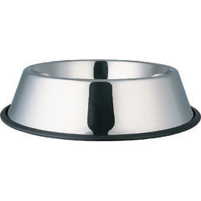 Indipets™ Stainless Steel No-Tip Dish 8 Oz.  I003103