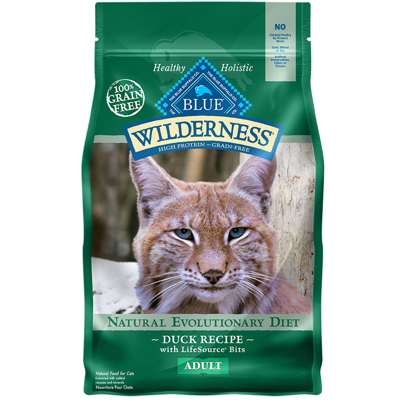 Blue Buffalo BLUE™ Wilderness™ Duck Recipe for Adult Cats, 5 lbs. I003323
