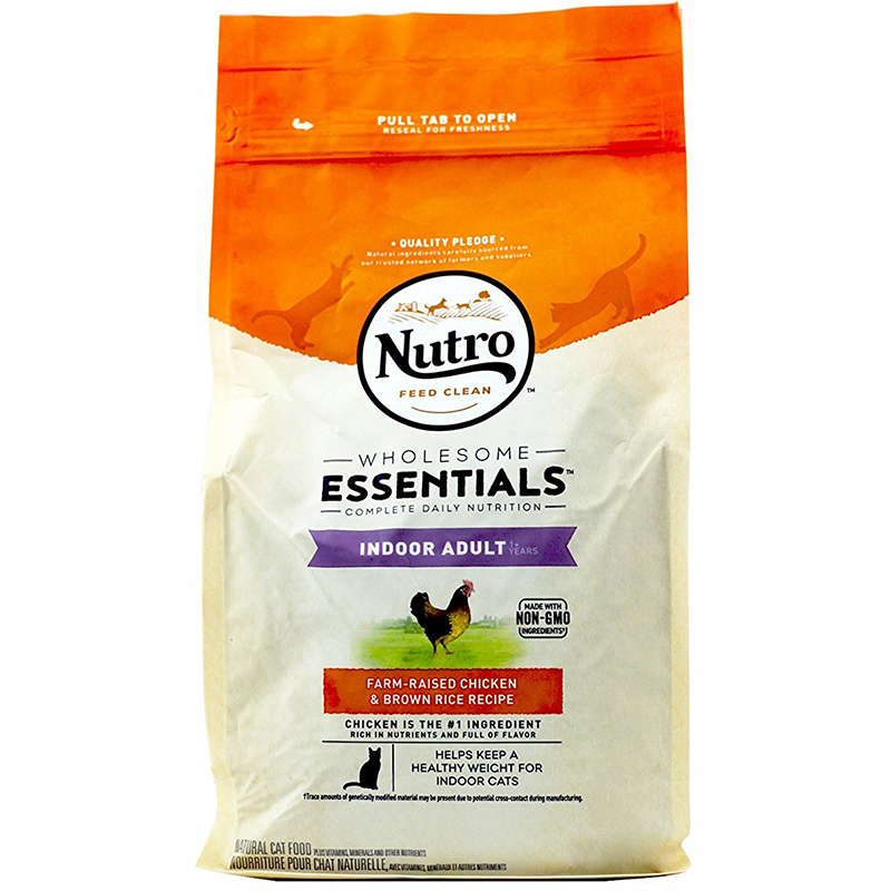 Nutro™ Indoor Adult Cat Dry Food 3 lb. I003592