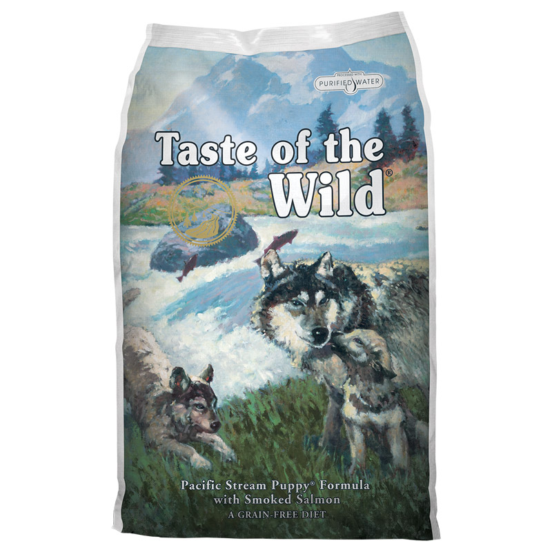Taste of the Wild® Pacific Stream Puppy® Formula with Smoked Salmon 5Ib I003771b
