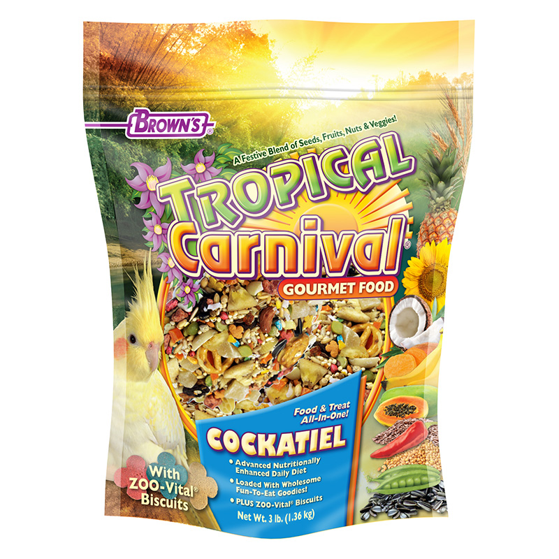 Tropical Carnival® Gourmet Cockatiel Food I004083