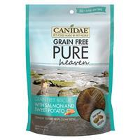CANIDAE® Pure Heaven Grain Free Biscuits for Dogs Salmon & Sweet Potato 11 oz.  I004333