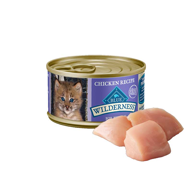 Blue Buffalo Wilderness Chicken Recipe for Kittens 3 oz. I004383