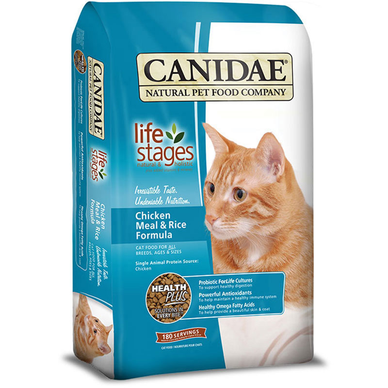 Canidae® All Life Stages Cat Food With Chicken Meal & Rice I004657
