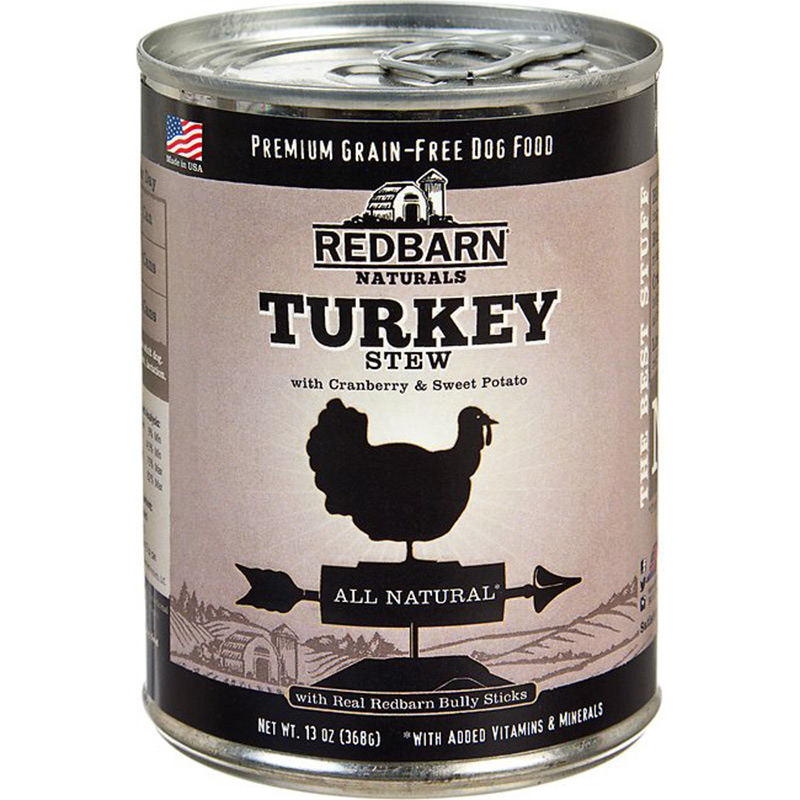 Redbarn Natural Grain-Free Turkey Recipe Stew for Dogs 13 oz I004776