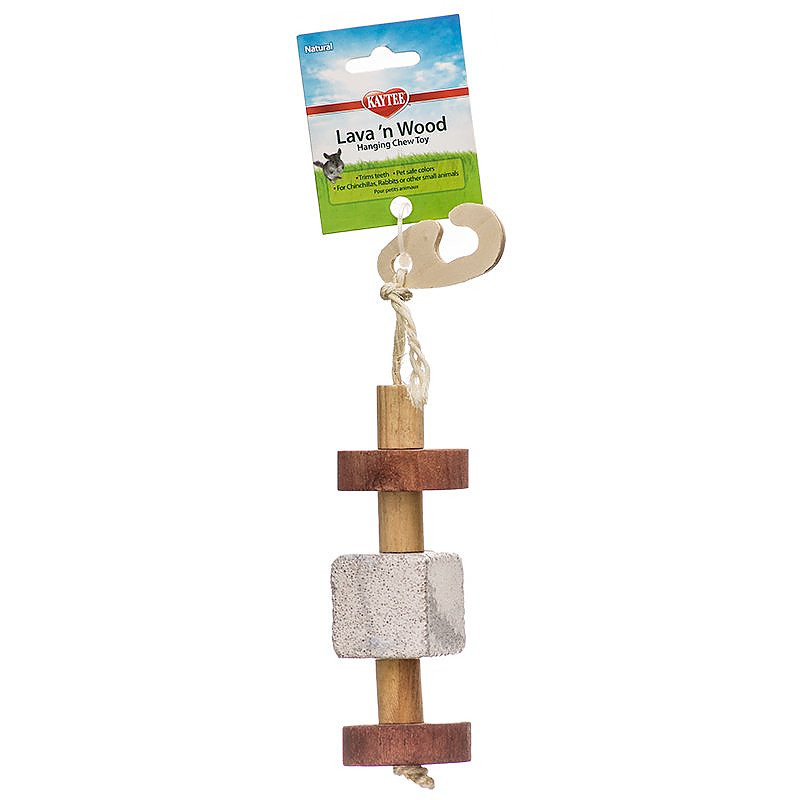 Kaytee Lava n' Wood Hanging Toy  I004958