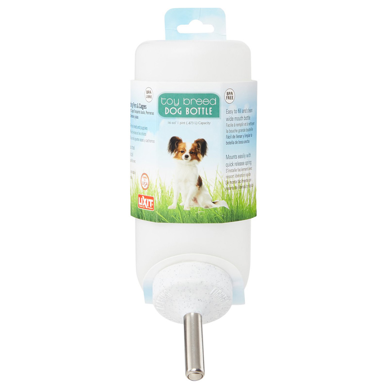 Lixit Toy Breed Dog Water Bottle 16 oz I005191