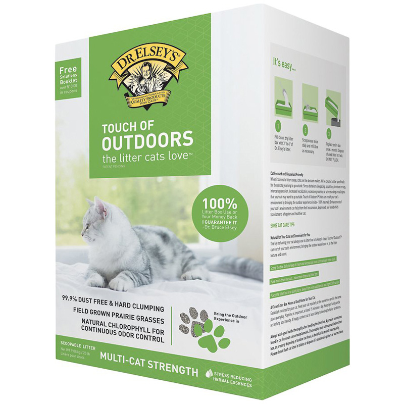 Dr. Elsey's Touch of Outdoors Litter 20 lbs  I005239