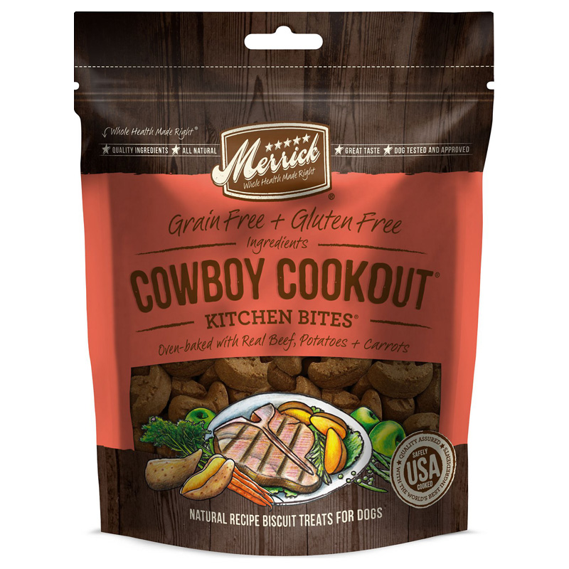 Merrick® Kitchen Bites Cowboy Cookout® 9 oz. I006184