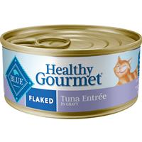 Blue Buffalo Healthy Gourmet Flaked Tuna Entrée for Cats 5.5 oz.  I006204