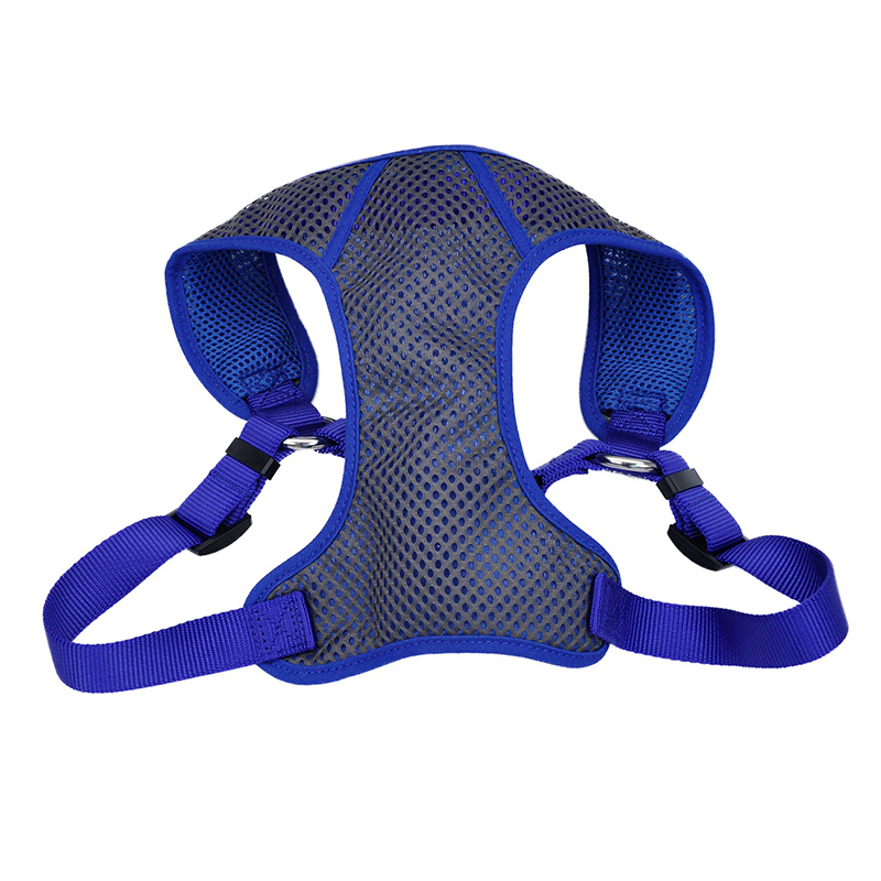"3/8"" x 11-13"" XXXS Grey/Blue Comfort Soft Sport Harness I006242"