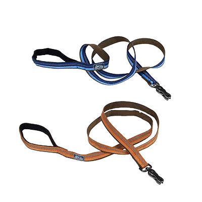 "K9 Explorer® Reflective Dog Leash with Scissor Snap 1"" x 6' Reflective Leash I006387b"